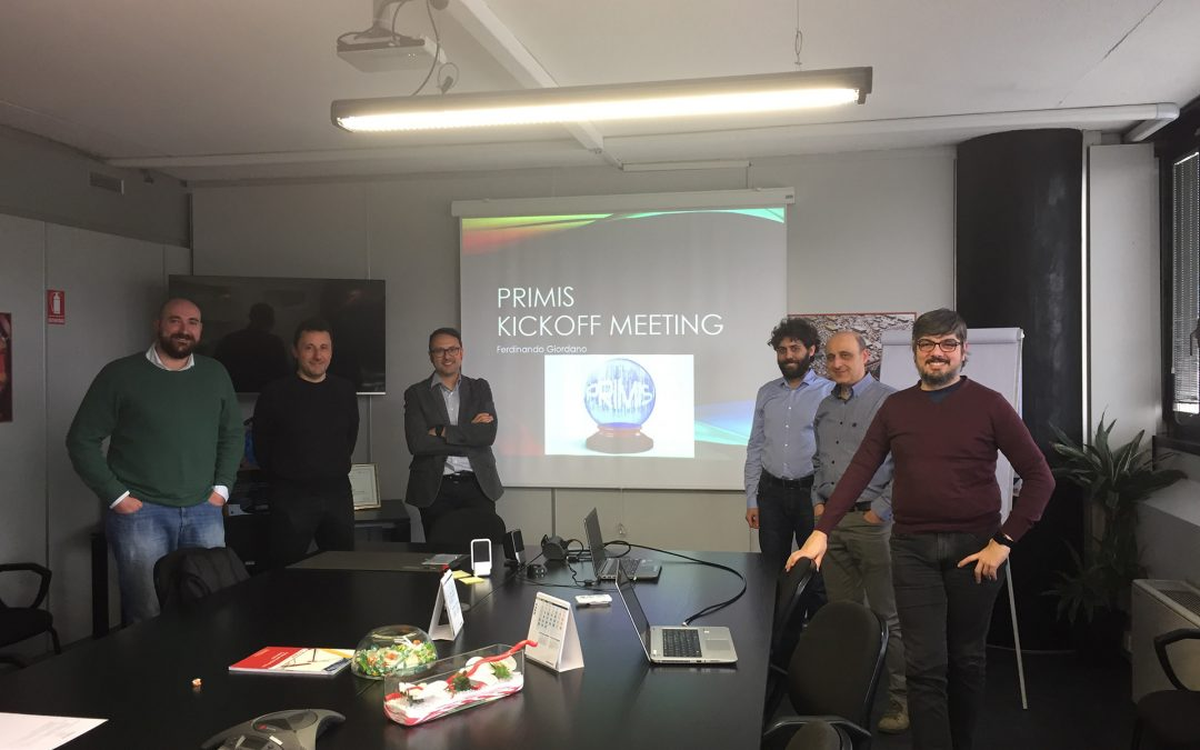 PRIMIS kickoff meeting